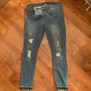 NWOT cropped leggings jeans mid rise 10R